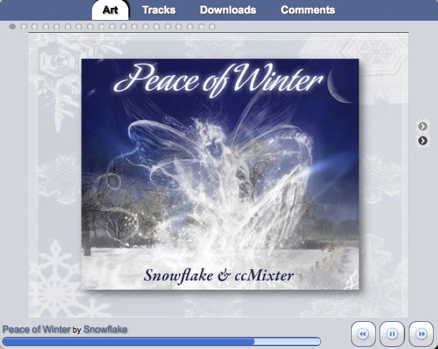 Peace of Winter digital-LP