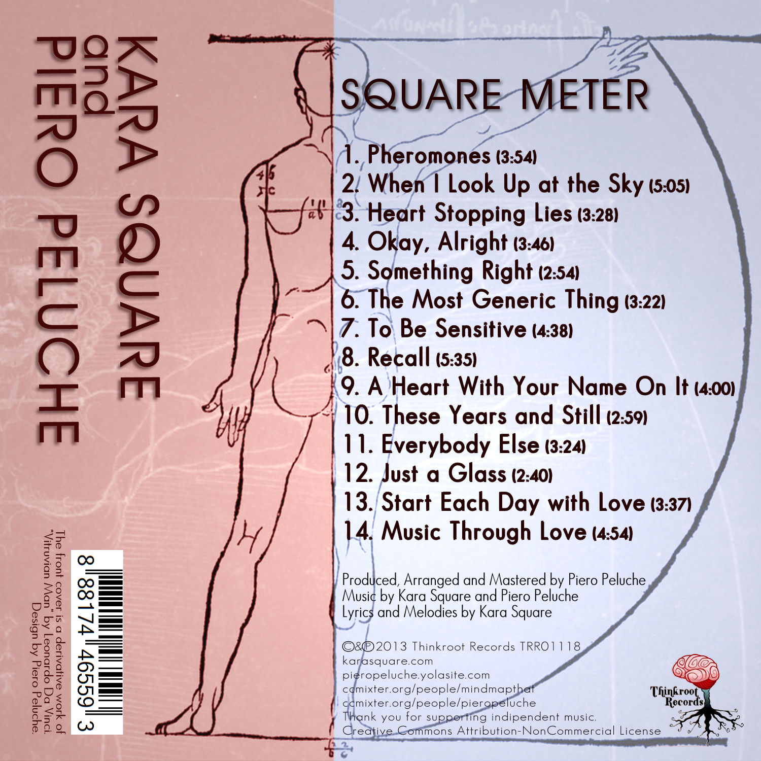 Square Meter Back Cover Art