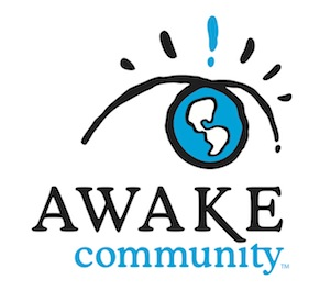 AWAKE Community logo by Ryan Goodwin