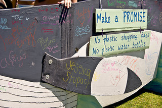 No Plastic Pledge Photo by Bob Davis