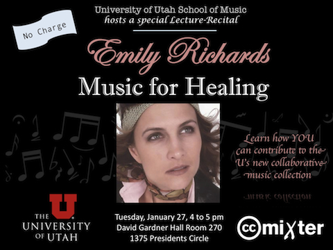Emily Richards UofU Lecture Recital Music for Healing