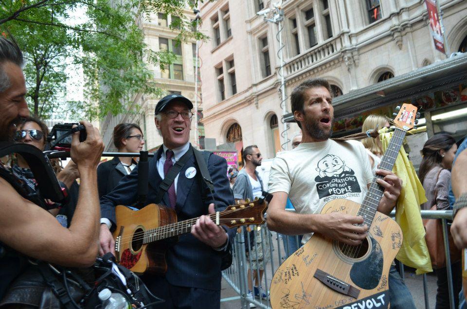 Jason Brock, Live in the Streets, NYC, Jason Brock Music, Power of Music, Guitarmy